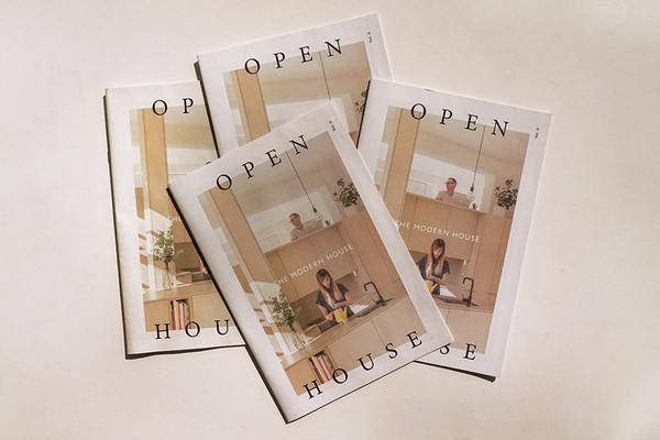 Open House newspaper published by UK estate agency the Modern House