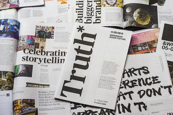 Birmingham Design Festival newspaper