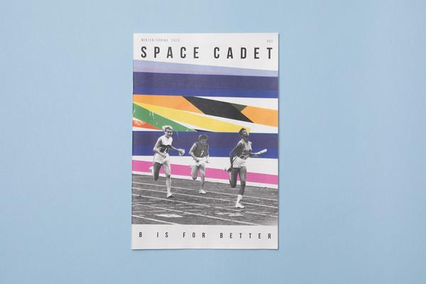 Illustrated zine Space Cadet, published by ROBIN SCHEINES & NATALIA OLBINSKI. Printed by Newspaper Club.