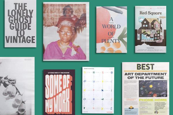 Print Roundup: April 2021. Portoflios, catalogues and more inspiring print projects printed by Newspaper Club.